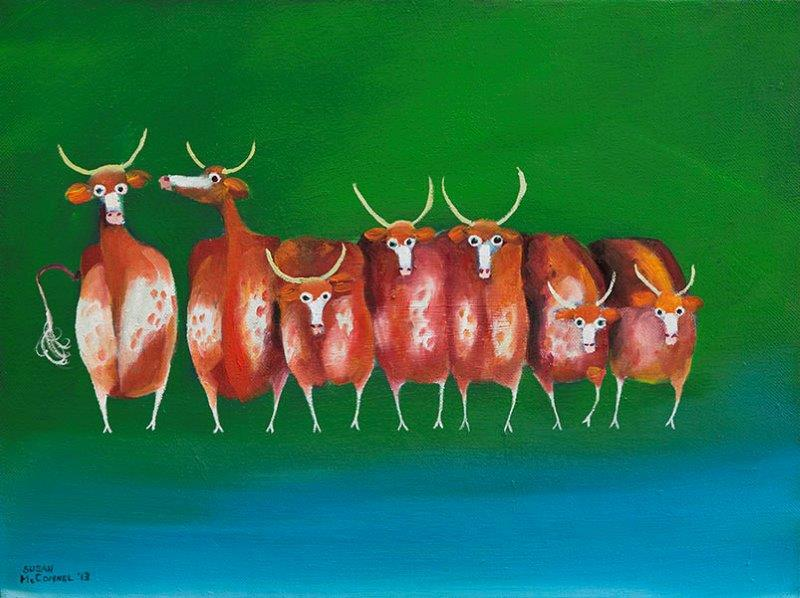 Cows in a Row