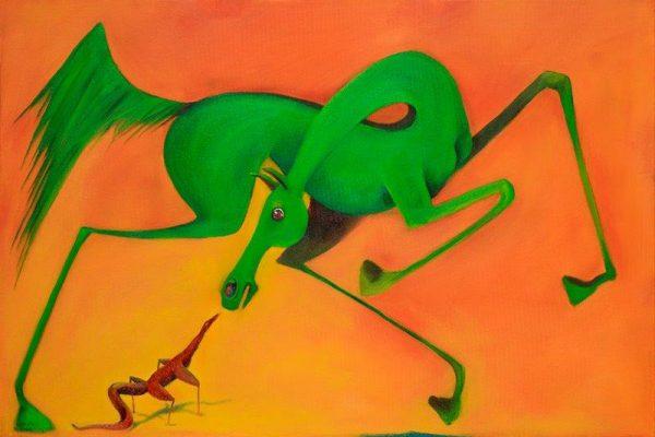 Horse Meet Lizard