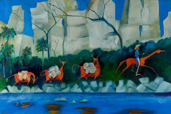 Susan McConnel – Leichhardt Along Ruined Castle Creek