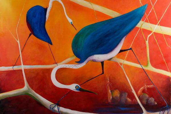Susan McConnel – Leichhardt Crossing the Condamine